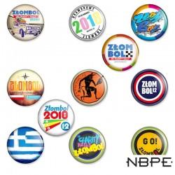 paczka wpinek z edycji 12 Grecja