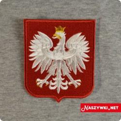 Naszywka godło Polski gigant