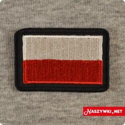Naszywka z flagą Polski...