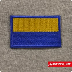 Naszywka Górny Śląsk flaga...