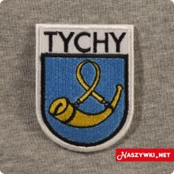 Naszywka herb miasta Tychy