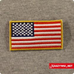 Naszywka flaga USA 50 gwiazdek