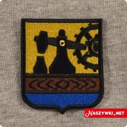Naszywka herb miasta Katowice
