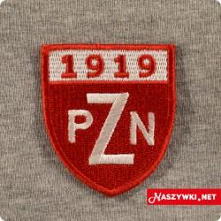 Naszywka PZN Polski Związek...