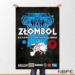 """Plakat """"ZŁOMBOL"""" 6. edycja 2012"""