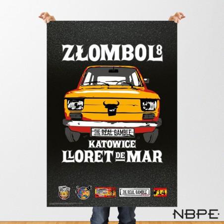"""Plakat """"ZŁOMBOL"""" 8. edycja 2014"""