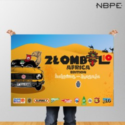 """Plakat """"ZŁOMBOL"""" 10. edycja 2016"""