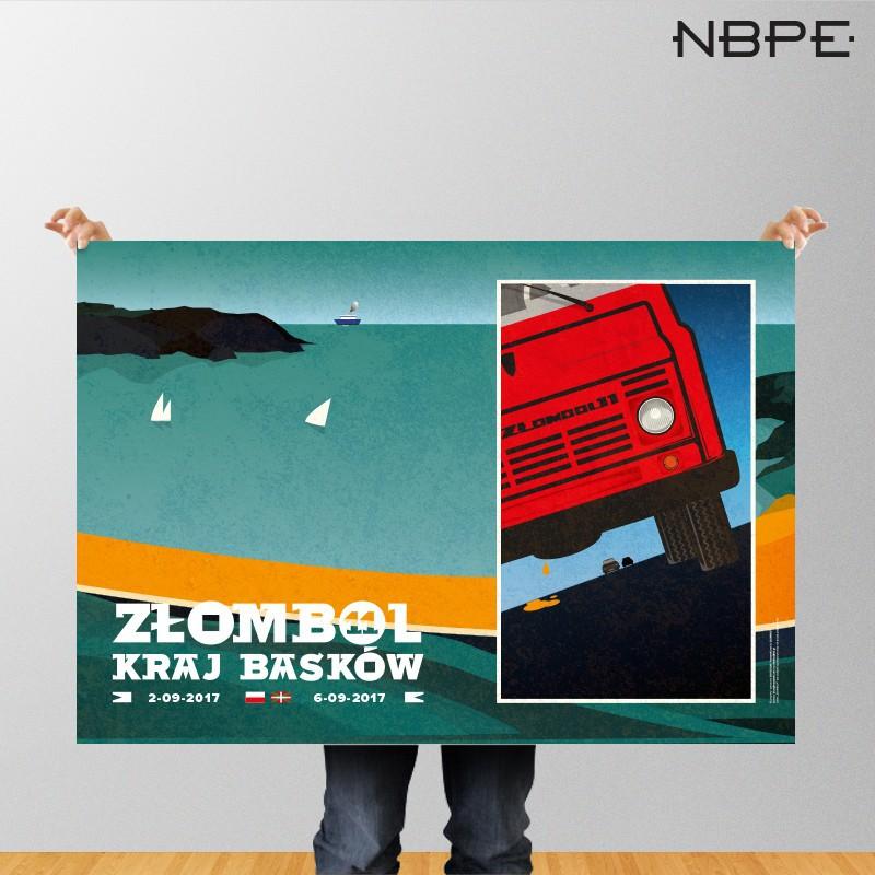 """Plakat """"ZŁOMBOL"""" 11. edycja 2017"""