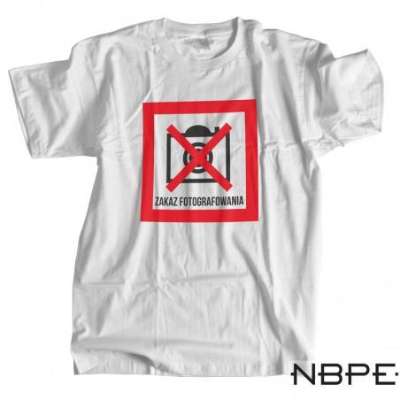 Koszulka męska Zakaz fotografowania