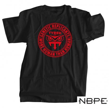 Koszulka męska czarna Blade Runner Tyrell