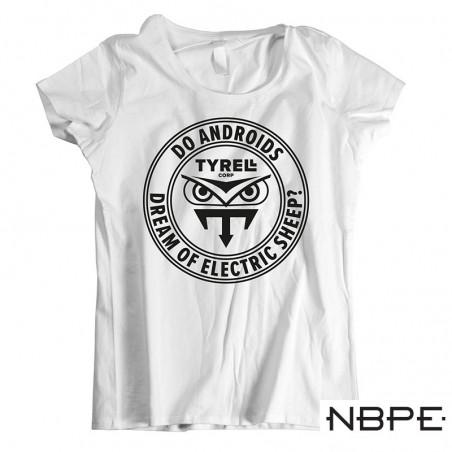 Koszulka damska biała Blade Runner czy Androidy śnią