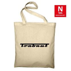 Torba bawełniana z marką Trabant (nadruk folią flex)