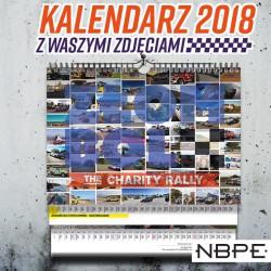 Kalendarz 2018 złombol jedna sztuka
