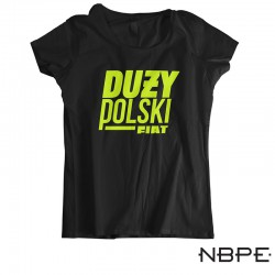 Koszulka damska duży polski fiat